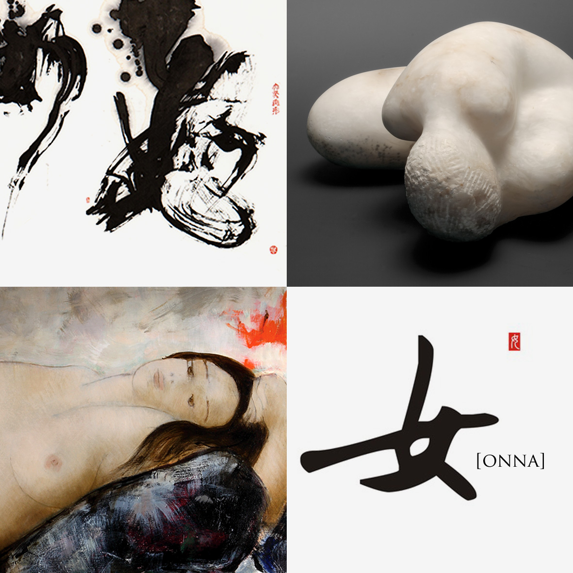 女[ONNA] art exhibition - volterra - pignano