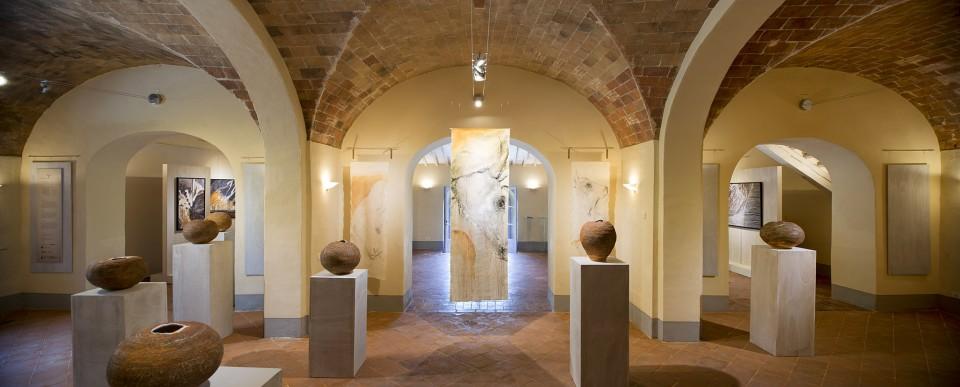 terra vivente Carlo Romiti exhibition